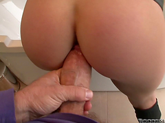 POV sex with the slutty Kristy Lust