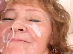 Compilation of scenes where sluts get a cumshot in the mouth