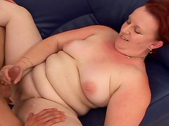 Great sex with a horny mature redhead