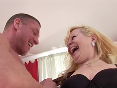 Mature Dillon Day is fucked by a stud's hard cock