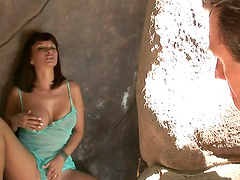 Carrie Ann is fucked silly by a stud's big fat cock