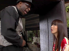 Interracial sex with a monster for the Asian babe Marica Hase