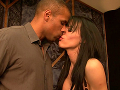 Horny shemale's fucked by a thick black cock