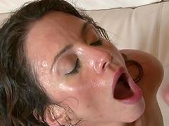 Rough sex with the horny mom Ariella Ferrera
