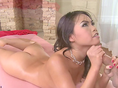 Great sex with the horny Asian babe Cindy Starfall