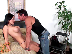 Great sex with the busty Aletta Ocean