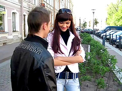 Teen couple fuck each other silly on camera