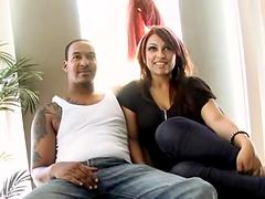 Black dude porks a chunky bitch in her stupid gash