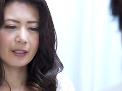 Asian MILF fucked and ejaculated upon