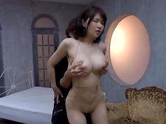 Asian hottie gets nailed by a very horny guy