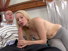 Epic Blonde Cowgirl Getting Throbbed With A Big Cock