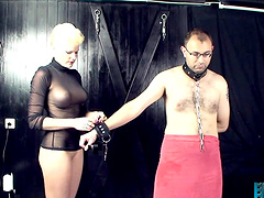 Scarlet Young has her way with a slave