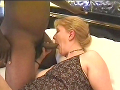 Mature broad banged by a black man