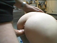 Two horny babes share a dick in this amazing scene
