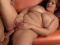 Rough sex with the cock thirsty BBW Lexi Summers