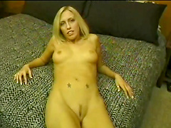 Cassie Young sucks dick & takes it in the ass