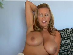 Busty ladies show off their juggs in solo compilation