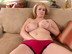 Rough sex with the sexy busty blonde Kali West