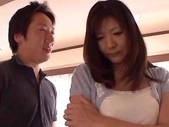 Hot sex with the sexy mature housewife Miyuki Matsushita