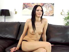 Closeup amateur video of anal sex with natural boobs Valentina Cross
