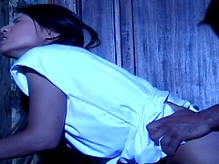Late night ass fucking and cumshot ending for deluxe Asian Shan