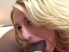 Closeup video of hardcore interracial 3-way with DP for Cassidy Blue