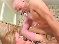 Hot ass blondie Christie Lee rides and gets a messy facial ending