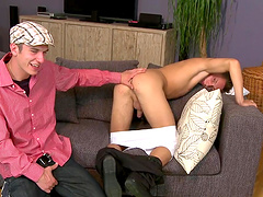 Kinky dude gets his ass fucked balls deep by his gay friend
