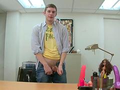 Gay fucker suckin' dick & getting stuffed