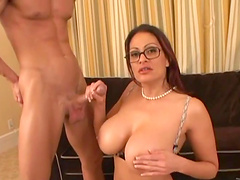 Amazing rough sex with the busty mom Ava Lauren