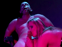 Amazing BDSM clip with the gorgeous blonde Mandy Bright