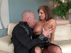 Rough sex with the horny Brooke Belle