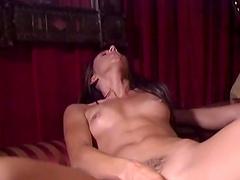 Incredible lesbian threesome with irresistible pornstar Allysin Chaynes