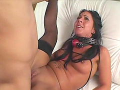 Julie Knight is fucked up her ass after being tortured