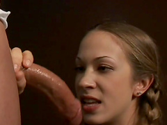 Anal loving cutie moans while getting fucked from behind