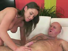 Myrna Joy is drilled by a thick cock as you hear her moan