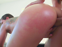 Doggystyle and missionary fucking with handsome Rilynn Rae