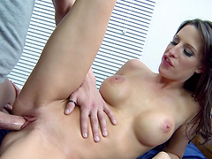 POV video of Kortney Kane giving head and getting fucked good