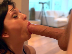 Smooth morning fucking with a facial ending for mature Jasmine James