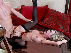 Fuck my wife video with busty mature blonde slut Brandi Love