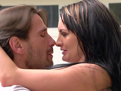 Erotic fucking in the bathroom with wet MILF Alektra Blue