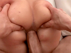 Balls deep pussy and ass fucking for redhead cougar Kelly Divine