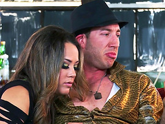 Jessica Jaymes and Kirsten Price fucked by one very lucky guy