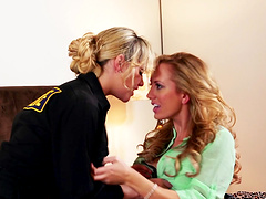 Horny lesbians eating each other - Brett Rossi and Mia Malkova