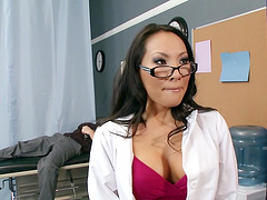 Lucky dudes swap their slutty wives - Asa Akira and Christy Mack