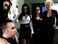 Jenna Presley and Jessica Jaymes join their friends for a sex game