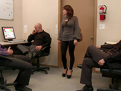 Stunning Aleksa Nicole fucked hard during a job interview