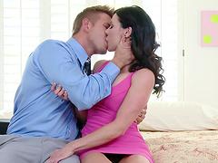 Kendra Lust is in need of her lover's huge pleasure tool