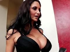 Fortunate fellow gets to penetrate Ava Addams' great anus
