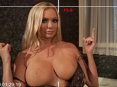 Busty wife Briana Banks loves to have sex with her big dick neighbor